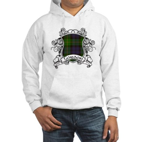 Gordon Tartan Shield Hooded Sweatshirt