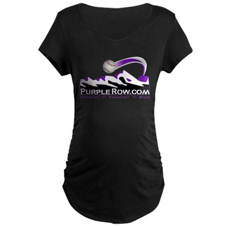 For Charity Maternity Dark T-Shirt