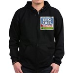 Bio Fuel Clean Zip Hoodie (dark)