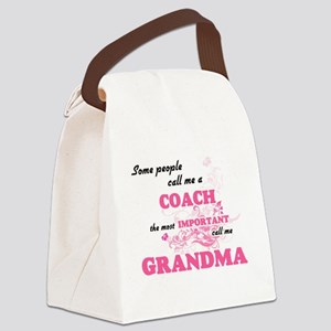 Some call me a Coach, the most im Canvas Lunch Bag