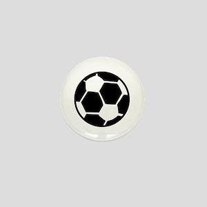 soccer ball icon Mini Button
