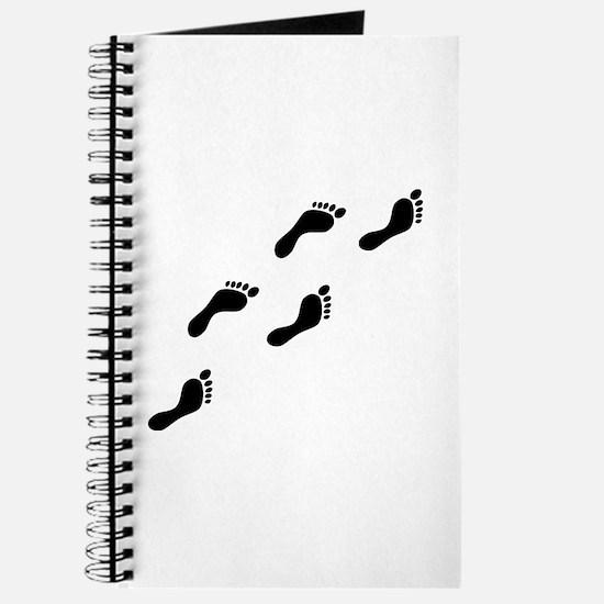 black footprints Journal