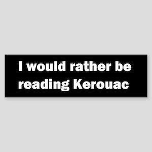 Jack Kerouac Bumper Sticker