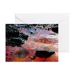 Fractal Pool Greeting Cards (Pk of 10)