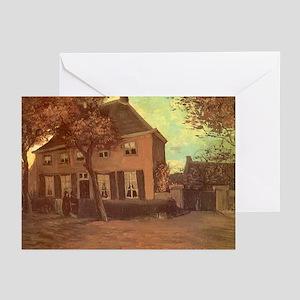 Van Gogh Vicarage at Nuenen Greeting Cards (Pk of