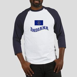 Indiana State Flag Baseball Jersey