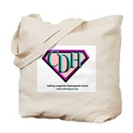 CDH Superhero Logo for Girls Tote Bag
