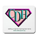 CDH Superhero Logo for Girls Mousepad