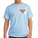 CDH Superhero Logo for Girls Light T-Shirt