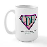 CDH Superhero Logo for Girls Large Mug