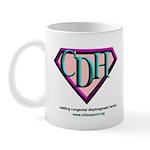 CDH Superhero Logo for Girls Mug