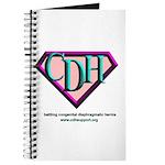 CDH Superhero Logo for Girls Journal