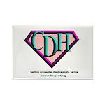 CDH Superhero Logo for Girls Rectangle Magnet (100