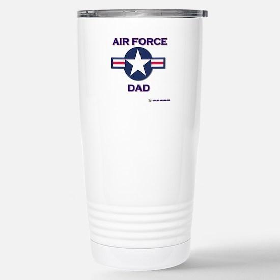 air force dad Stainless Steel Travel Mug