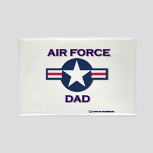 air force dad Rectangle Magnet