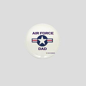 air force dad Mini Button