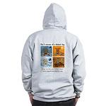4 Seasons of Chained Dog Zip Hoodie