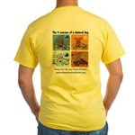 4 Seasons of Chained Dog Yellow T-Shirt