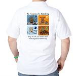 4 Seasons of Chained Dog Golf Shirt