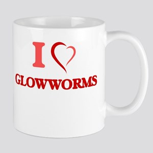 I love Glowworms Mugs