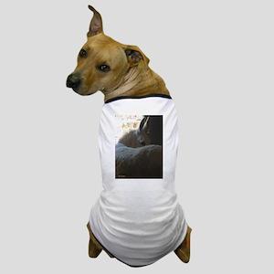 White Donkey Dog T-Shirt