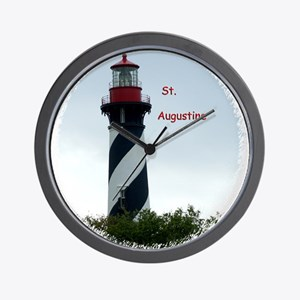 St Augustine Lighthouse Wall Clock