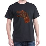 Oseberg Dragon Prow Black T-Shirt
