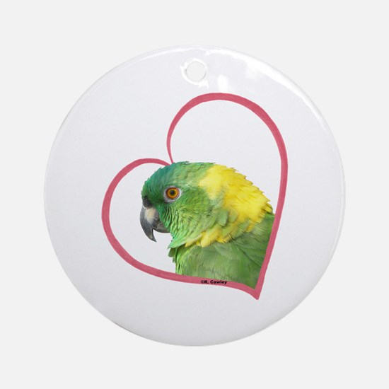 YN Amazon Heart Line Ornament (Round)