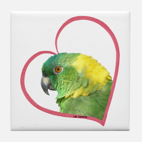 YN Amazon Heart Line Tile Coaster
