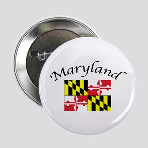"Maryland State Flag 2.25"" Button"