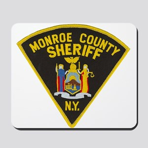 Monroe County Sheriff Mousepad
