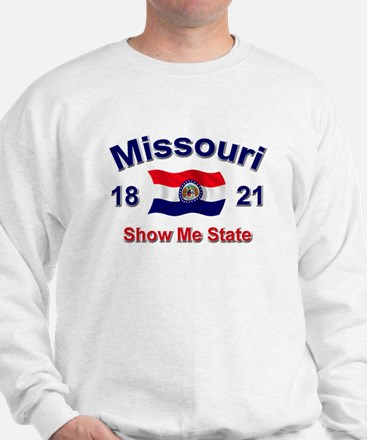 Missouri State Flag Sweatshirt