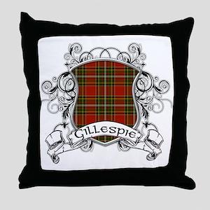 Gillespie Tartan Shield Throw Pillow