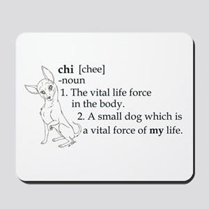 Meaning of Chi Mousepad