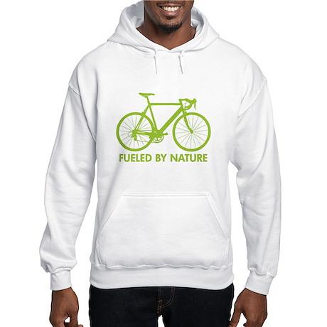 Bike Bicycle Green Hooded Sweatshirt
