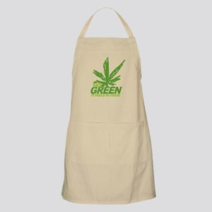THC Green Weed BBQ Apron