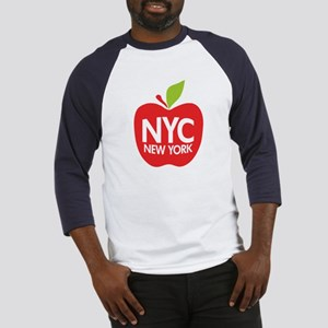 Big Apple Green NYC Baseball Jersey