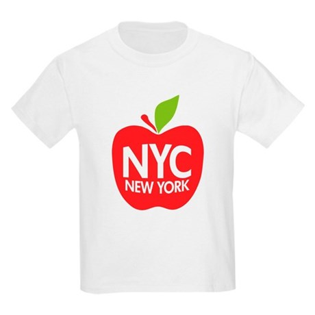 Big Apple Green NYC Kids Light T-Shirt