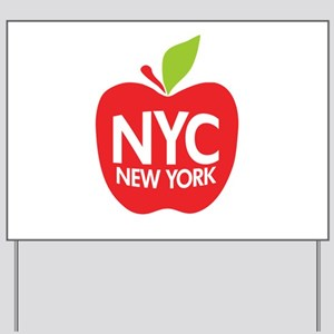 Big Apple Green NYC Yard Sign