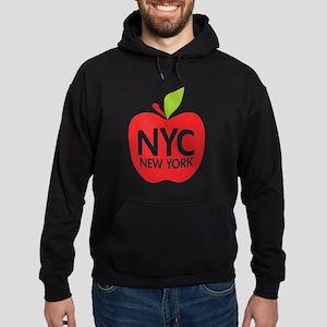 Big Apple Green NYC Hoodie (dark)
