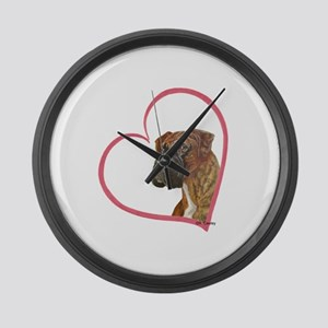 Heartline N Boxer Large Wall Clock