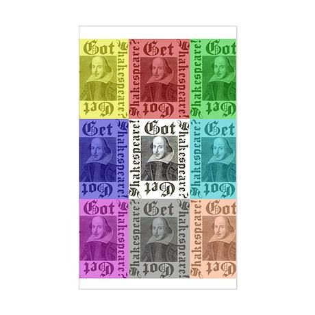 Got Shakespeare? Get Shakespe Rectangle Sticker