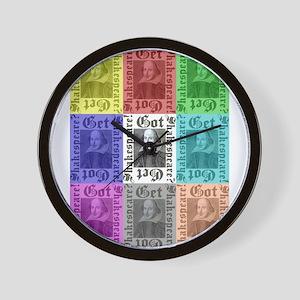 Got Shakespeare? Get Shakespe Wall Clock