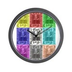 Got Shakespeare? Get Shakespe Wall Clock