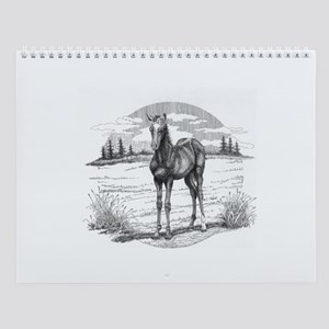 Foal Wall Calendar