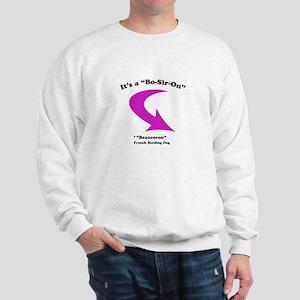 Bo-Sir-On, pink Sweatshirt
