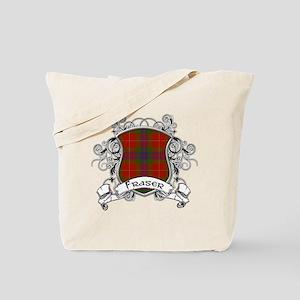 Fraser Tartan Shield Tote Bag