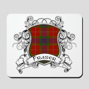 Fraser Tartan Shield Mousepad