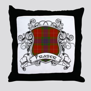 Fraser Tartan Shield Throw Pillow
