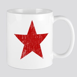 Punk Star Red Mug